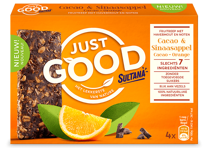 Just Good Cacao Sinaasappel